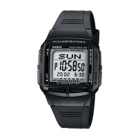 Jam Tangan Casio Digital Black Resin DB-36- 1A
