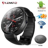 LEMFO LEM7 Smartwatch Phone Android 4G LTE 16G Android 7.0 Original