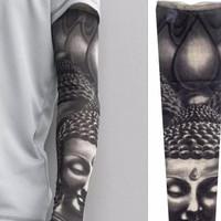 manset tatoo tato budha buddha arm sleeve
