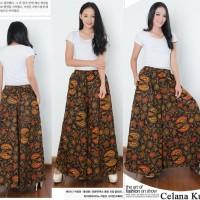 Jual Rok Celana Batik Murah Harga Terbaru 2019 Tokopedia Source · Celana Kulot Batik Jumbo Jafrina Long Pant Wanita