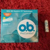 o.b. pro comfort super tampon eceran