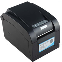 Xprinter Xp 350b printer yang dapat mencetak atau print sticker label