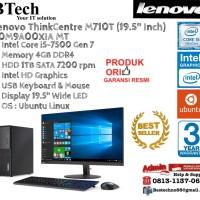 """LENOVO M710T MT ThinkCentre Core i5-7500/4GB/1TB/DOS+19.5"""""""
