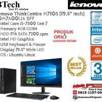 "LENOVO M710S SSF ThinkCentre Core i5-7500/4GB/1TB/DOS+19.5"""