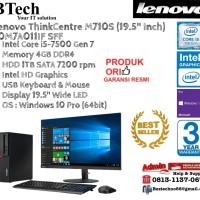 """LENOVO M710S SSF ThinkCentre Core i5-7500/4GB/1TB/Win10Pro+19.5"""""""
