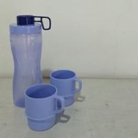 Botol Minum Anti Tumpah + Mug / Gelas Kopi / Jumbo Splash Tulipware