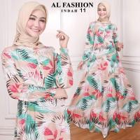 Gamis Maxi Indah Plumage Baju Muslim Wanita Baju Gamis Murah