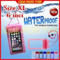 Case Waterproof Bag for HP OPPO A3 OPO Sarung Plastik Anti Air Cover