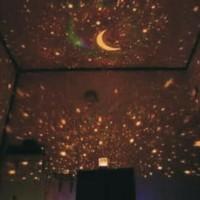 Jual Lampu Tidur PROYEKTOR BULAN BINTANG (rotation + music) Murah