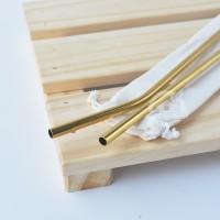 Sedotan Stainless Gold