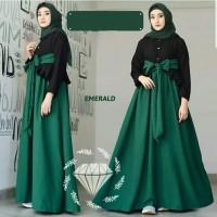 Maxy Suci Ijo Busana Muslim Modern Baju Gamis Wanita Terbaru