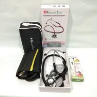 Paket Tensi Meter General Care + Stetoskop GC Premier + Thermometer