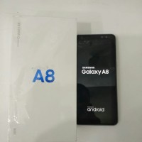 Samsung Galaxy A8 Ram 4 Rom 32 Silver Second Garansi Sein
