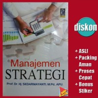 Proses Manajemen Strategik Ebook