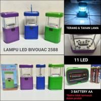 Lampu Camping Emergency / Lampu LED Bivouac 2588