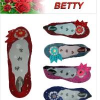 Sepatu Pantofel Jelly Beludru Wanita - SB01