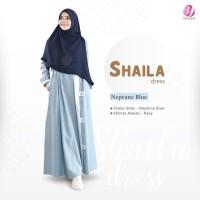 Gamis Shaila Dress NEPTUNE BLUE By Yasmeera GAMIS ONLY