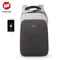 TIGERNU Tas Ransel Backpack Anti Maling dengan USB Port T-B3351