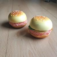 Jual Tempelan Kulkas Burger Mini Magnet Roti Daging Keju Bagus Lucu Murah Murah