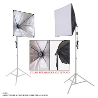 1-Lamp Holder with Softbox (60x60cm)