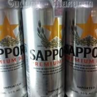 Sapporo Bear 500ml / Premium Beer / Bir Sapporo / Bir Kaleng