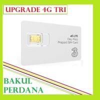 Kartu Perdana Upgrade Tri Three 3    Kuota (Jika Beruntung) Bakul