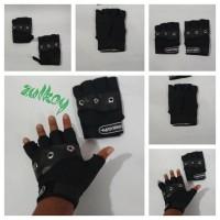 Harga sarung tangan laki laki cowok pria hitam sepeda | antitipu.com