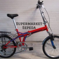 promo Sepeda Lipat 20 United Quest CL-02 Boncengan