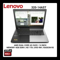 bigg promo LAPTOP Lenovo IdeaPad 320 - AMD A9-9420 - 4GB - 1TB - 14