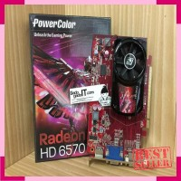 NVIDIA Series - Geforce - VGA Card PCI-E POWERCOLOR ATI RADEON HD 6570