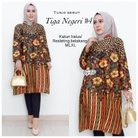 Promo! Dress Batik Tiga Negeri 4