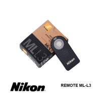 Remote Shutter Nikon ML-L3 Wireless Infrared Untuk Nikon SLR DSLR