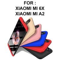 HARDCASE 360 case Xiaomi Mi6X Mi 6X MiA2 Mi A2 casing hp full cover