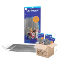 Paket Hemat Masker Skrineer 5S Grey 1 Karton