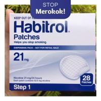 Nicotine Patch Habitrol 21mg Step 1 - Berhenti Merokok -Isi 7 Patch