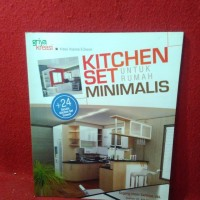 Griya kreasi - kitchen set untuk rumah minimalis - sugeng imam santosa