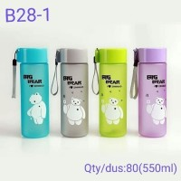 Botol Minum Karakter Big Bear New Edition 550ml Botol Air Minum B28 1