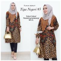 Dress Batik Solo. Tunic Batik Serut Tiga Negeri#3