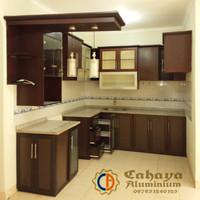 Daftar Harga Termurah Kitchen Set Aluminium Composite Desain