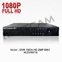 DVR/XVR CCTV 16 CHANNEL CLOUDP2P HD NEXTCAM 1080P 2MP (BISA ONLINE HP)