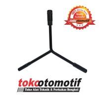 Kunci Y Panjang 12 - 14 - 17 mm Hitam MAXPOWER / Kunci Sock Y Hitam