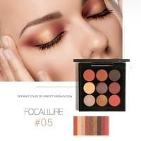 Focallure nine-color eye shadow K1470D36