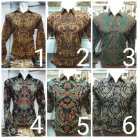 Harga Jual Kemeja Baju Batik Pria Pendek Pejabat Seragam Ika Fashion Tanah  Abang di Jakarta - Elektronikshop cceb3f3615