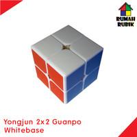 Rubik 2x2 Yongjun Guanpo Whitebase / Rubik Murah