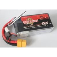 Wild Scorpion 1500mah 3s 11.1v 90c Lipo Battery
