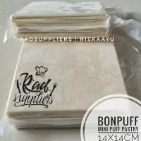 Bonpuff Mini Puff Pastry 14X14cm, Kemasan Repack Radsuppliers isi 10