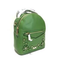 57bb75b197f7 Michael Kors Jessa Small Convertible Backpack True Green