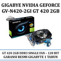 Gigabyte GV-N420-2GI Nvidia GeForce GT420 GPU 2gb 128 BIT VGA CARD