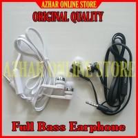 Full Bass Headset Buat HP OPPO A3 OPO Earphone Erpon Hedset Kabel