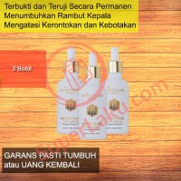 Jual Obat Penumbuh Rambut Montclair Hair Serum Paket Gold